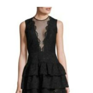 COMING SOON NICOLE MILLER MAXI LACE TIERED DRESS